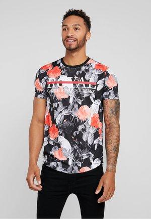 RAVEN - T-shirt med print - grey