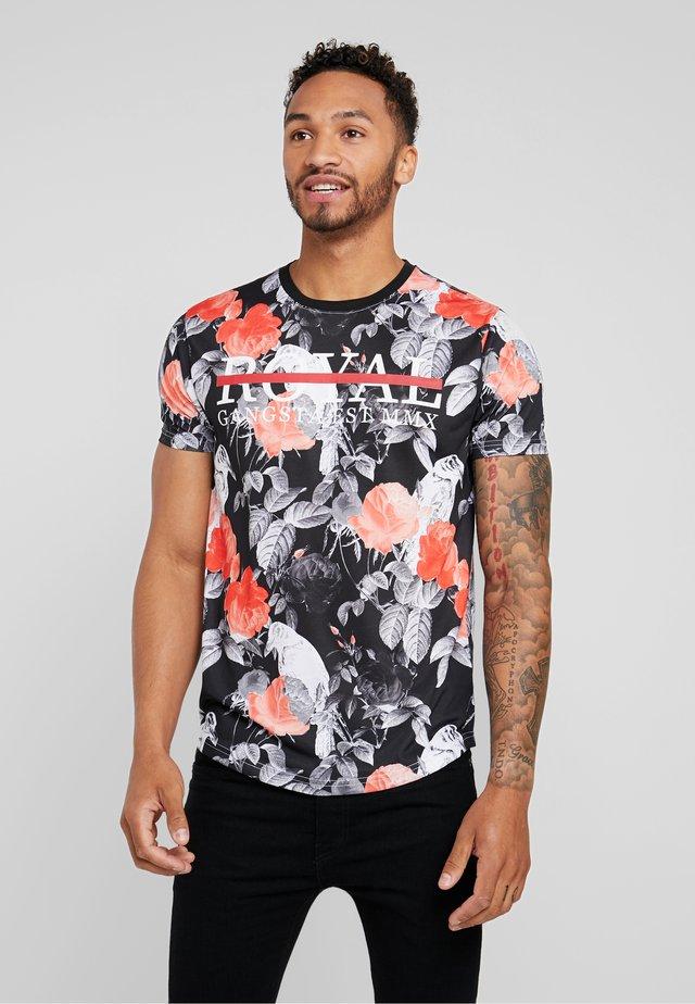 RAVEN - T-shirt print - grey