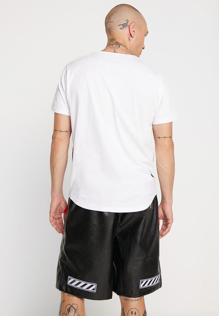 Soul SplatT Brave White shirt Imprimé red FKJ1c3uTl