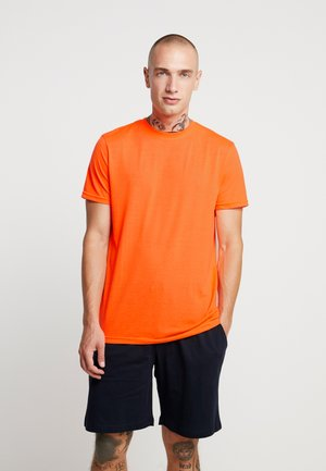 T-shirt - bas - neon orange