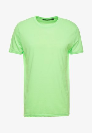 Basic T-shirt - neon green