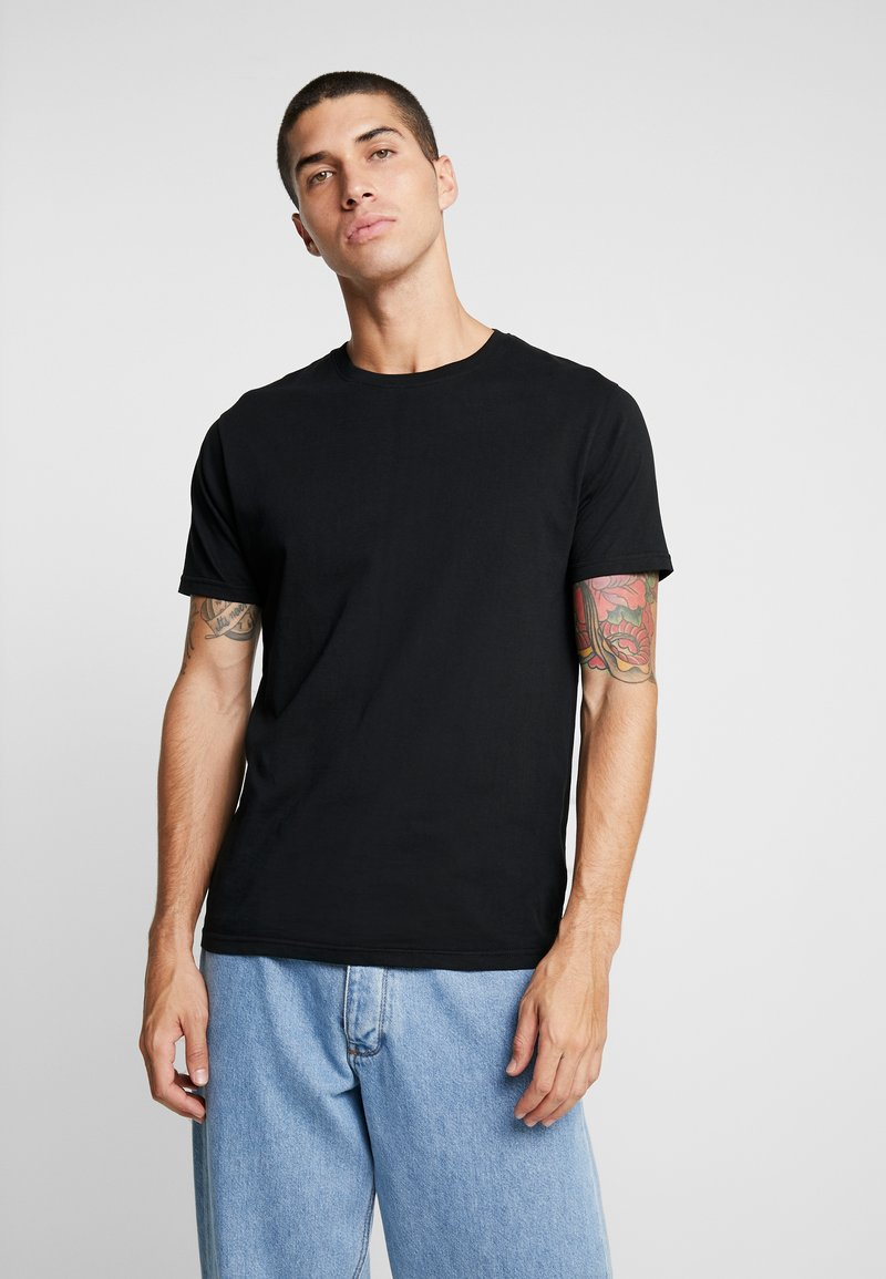 Brave Soul - STACK 3 PACK - Basic T-shirt - black