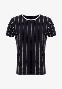 Brave Soul - STOBART - Print T-shirt - rich navy/optic white - 3