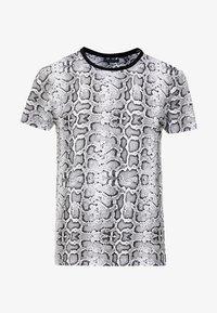 Brave Soul - POISON - T-shirt print - black/white - 3