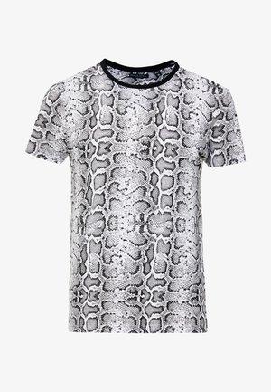 POISON - T-shirt z nadrukiem - black/white