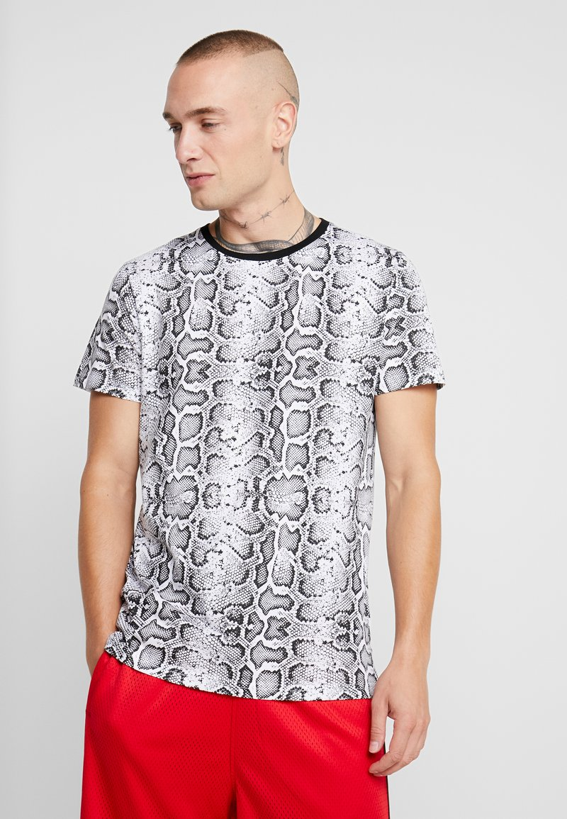 Brave Soul - POISON - T-shirt print - black/white
