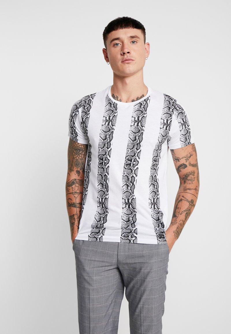 Brave Soul - Print T-shirt - white