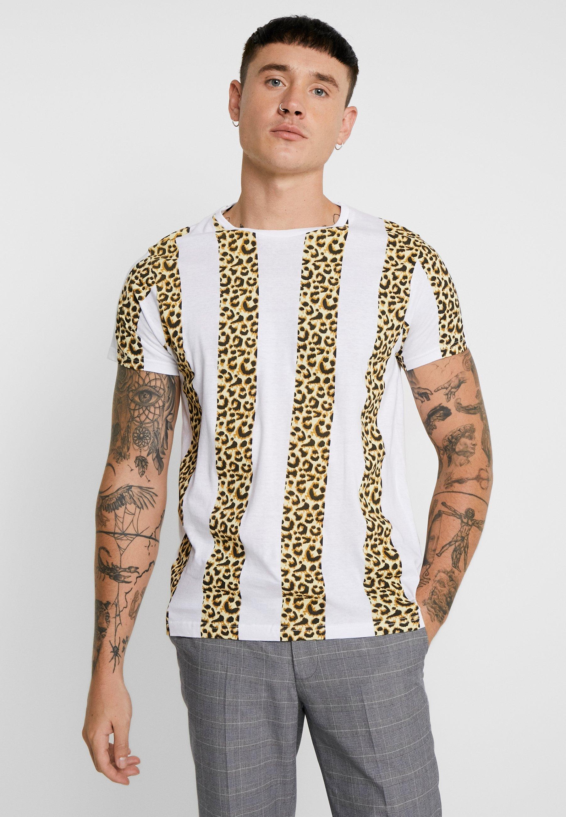 multi ImpriméWhite shirt T Brave Soul coloured BtQrsxhdCo