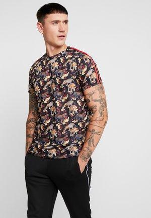 FLOURISH - T-shirt print - black/multi