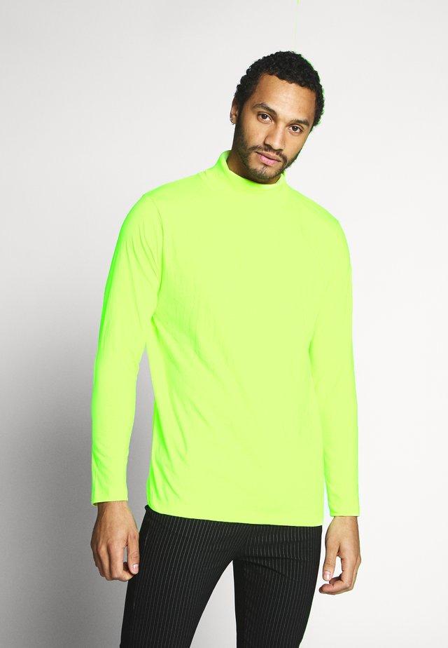 Longsleeve - lime neon