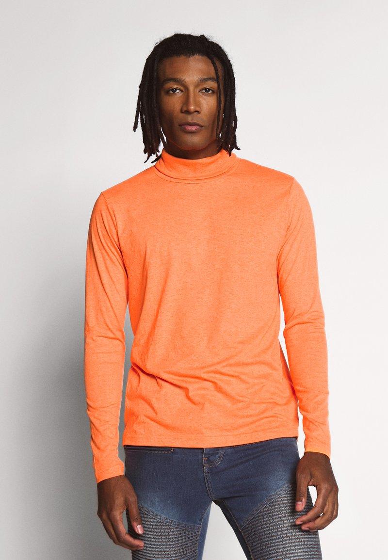 Brave Soul - Pitkähihainen paita - orange neon