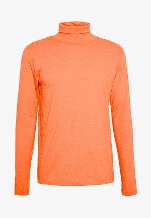 Camiseta de manga larga - orange neon