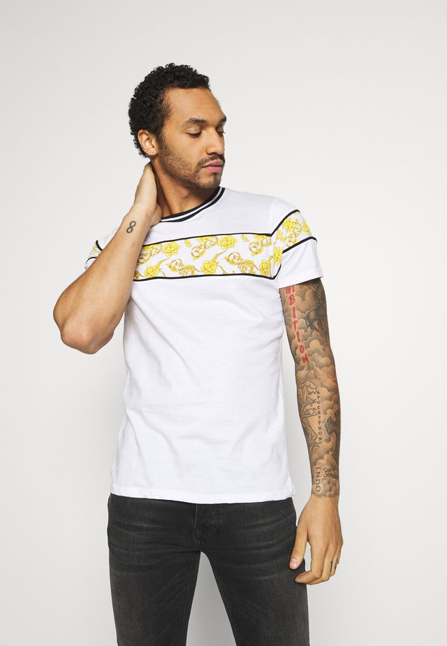T-shirt med print - white/multi