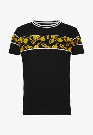 T-shirts med print - black/multi