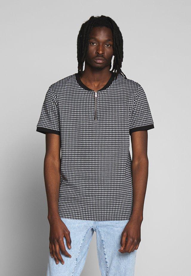 SIAMESE - T-shirts med print - black/white