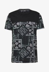 Brave Soul - ESELLATE - T-shirt print - black/white - 3