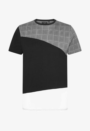 GARFISH - T-shirt med print - black/white