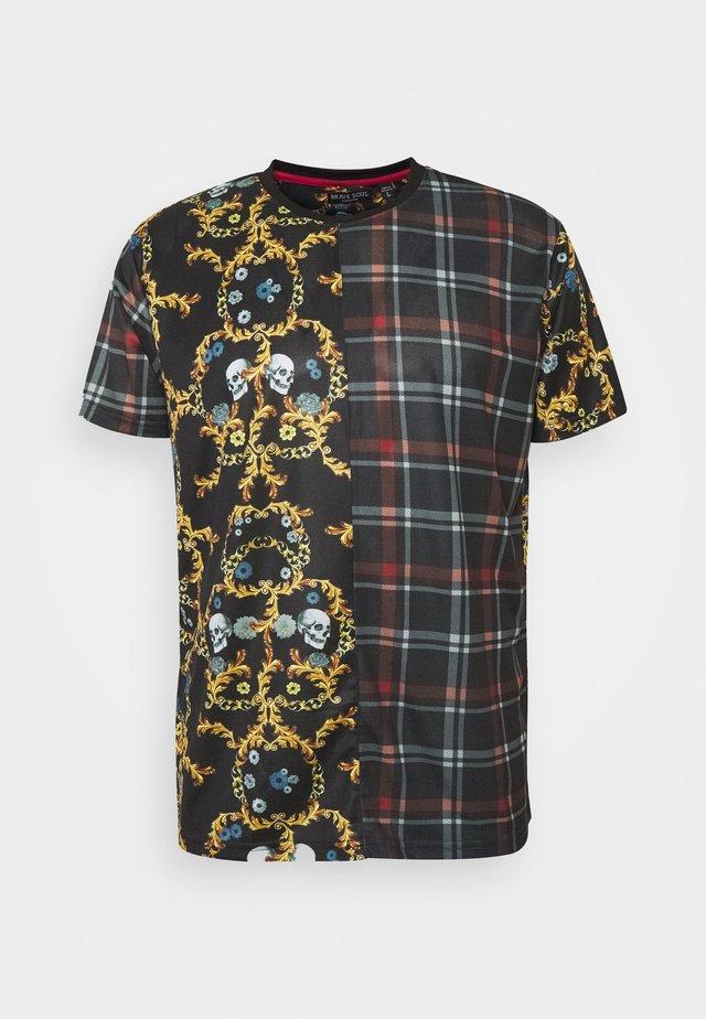 MIXER - T-shirt med print - red