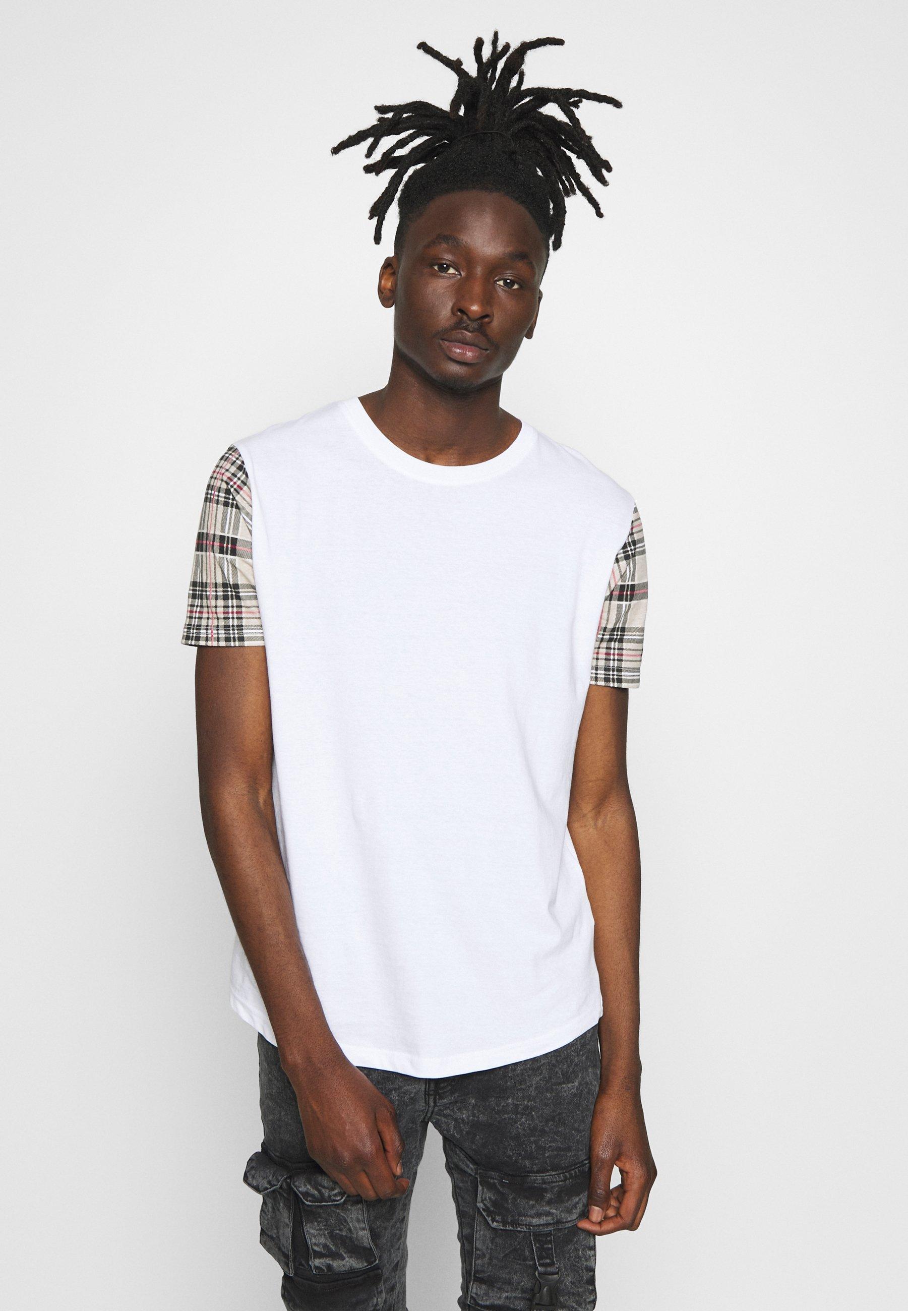 Brave Soul T-shirt z nadrukiem - white