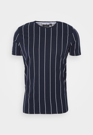 FLYNN - T-shirt imprimé - blue/white
