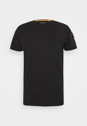 FOXTROT - Jednoduché triko - black