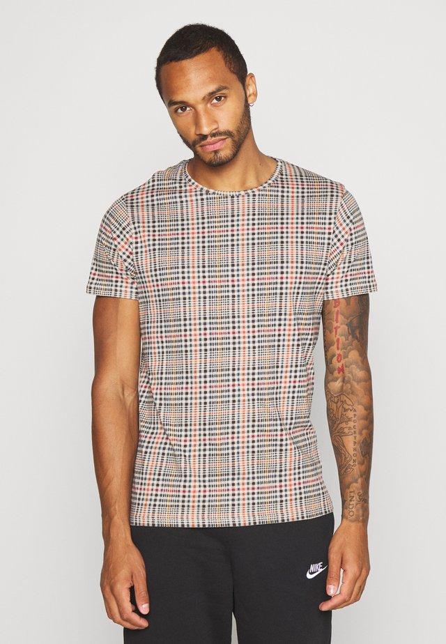 REINETTE - T-shirt imprimé - beige