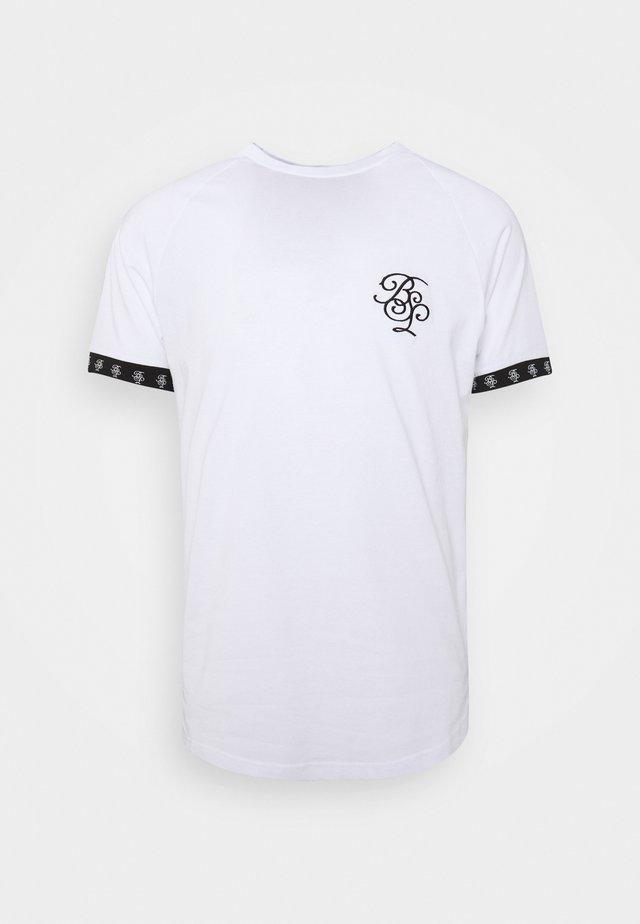 T-Shirt print - optic white/ jet black
