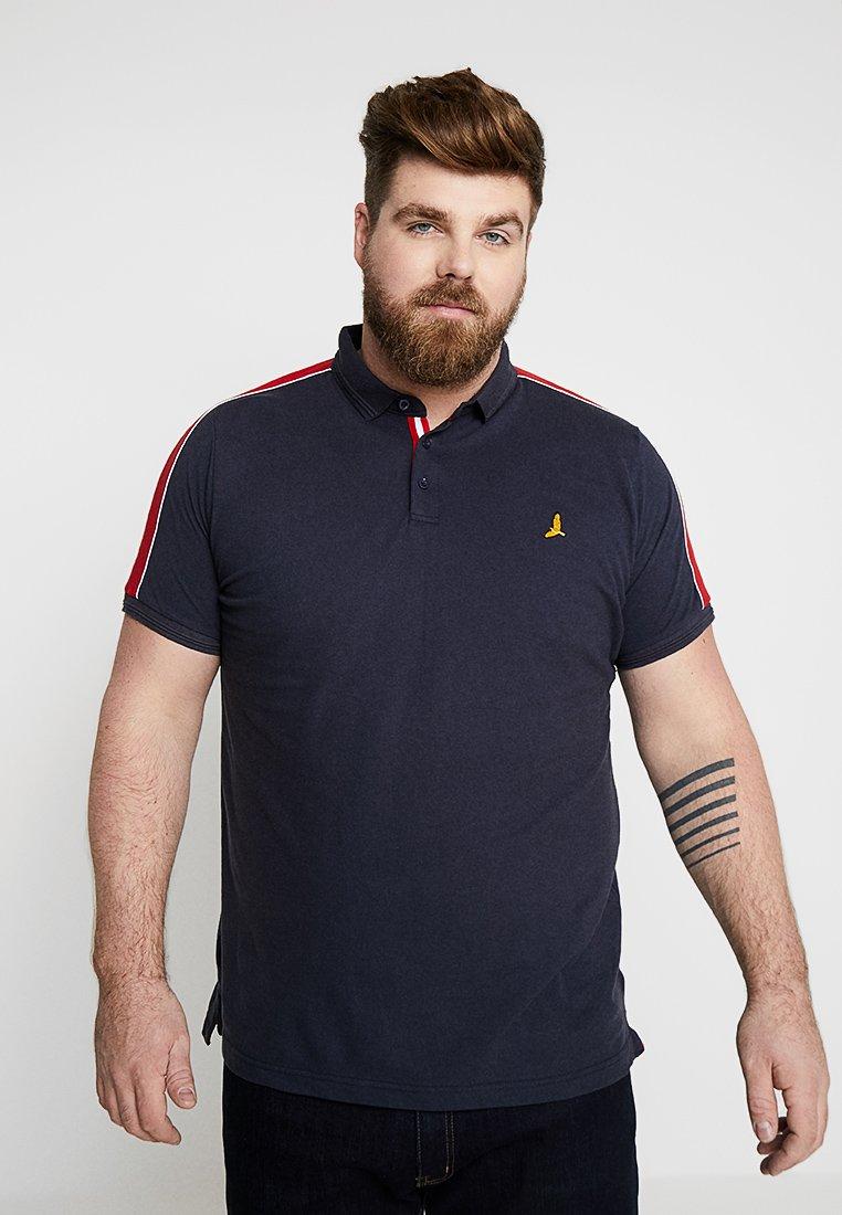 Brave Soul - GOLDIN - Poloshirt - navy/red/white