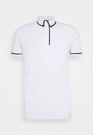 VIRGIL - Poloshirt - optic white/jet black