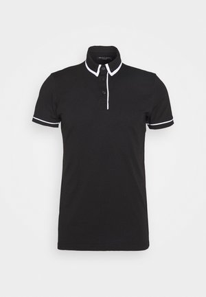 VIRGIL - Polo shirt - jet black/optic white
