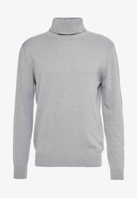 Brave Soul - HUME - Stickad tröja - dark grey marl - 4