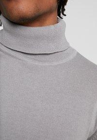 Brave Soul - HUME - Stickad tröja - dark grey marl - 5