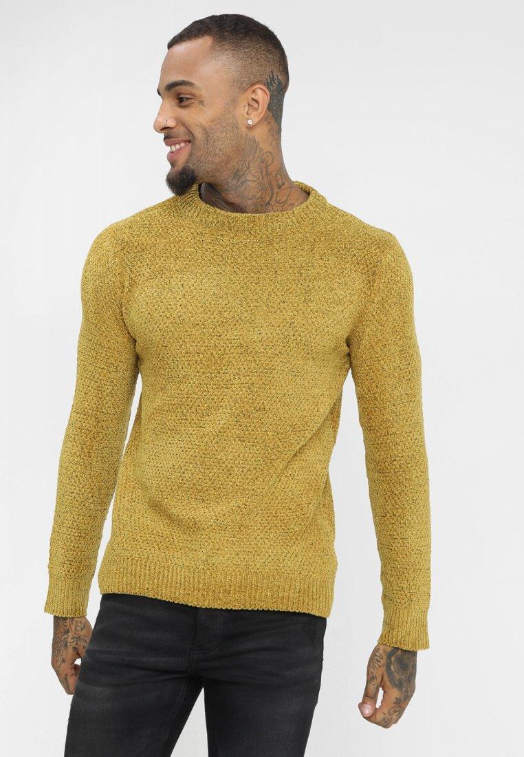 Brave Soul - DHARMA - Stickad tröja - mustard