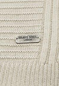 Brave Soul - LINEAR - Strikkegenser - barley - 5