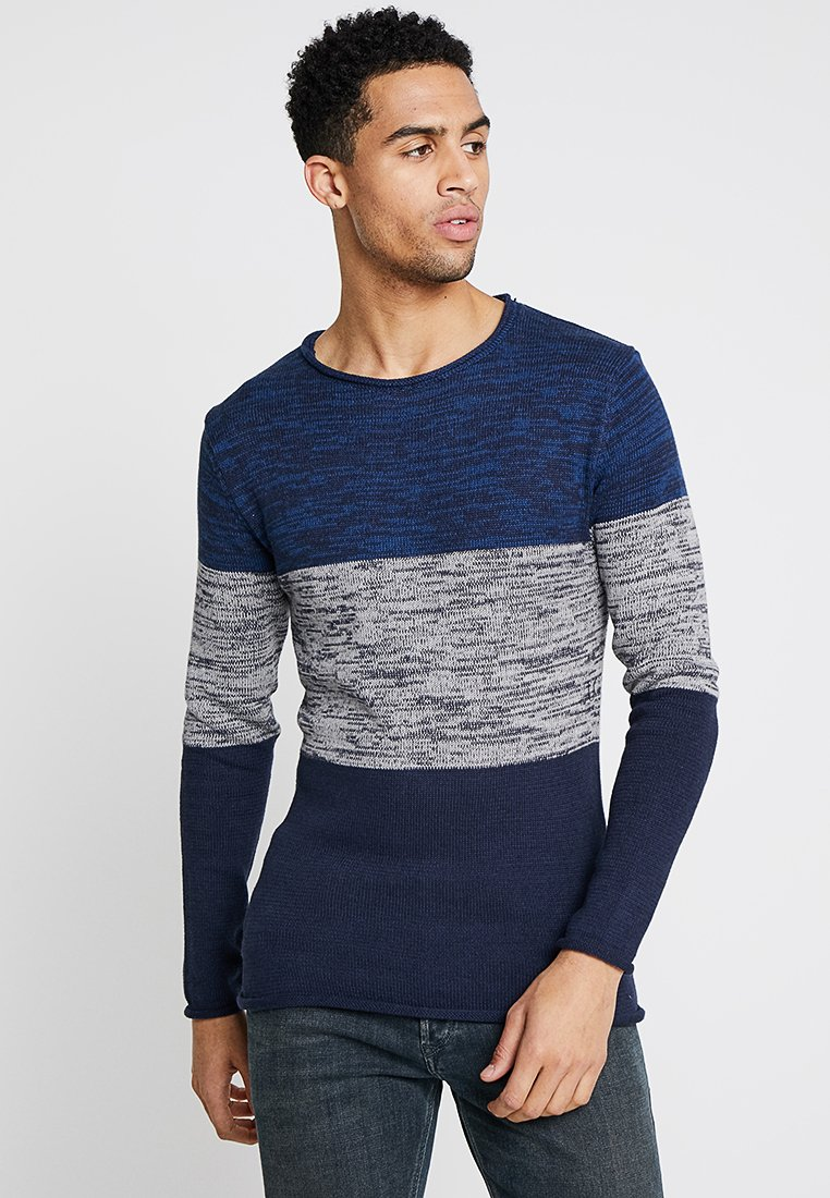 Brave Soul - Jumper - navy/grey