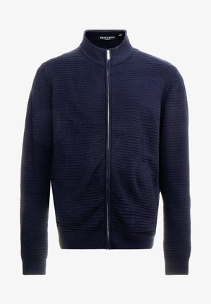 WALT PLUS - Chaqueta de punto - navy plated/black