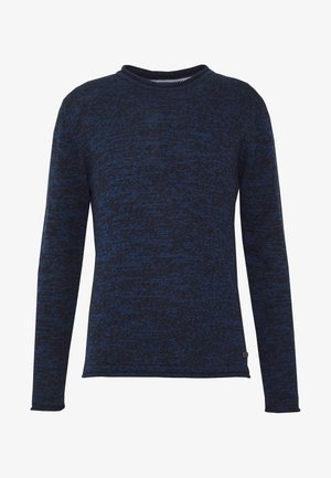 BOREN - Strikkegenser - blue/navy