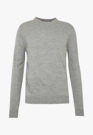 Jersey de punto - silver grey marl
