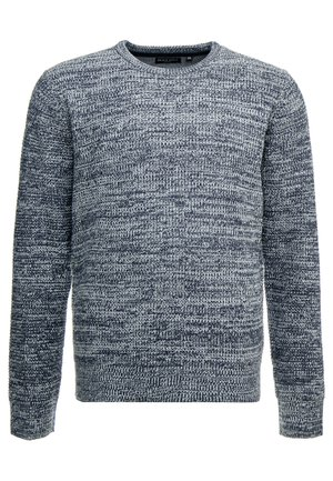 NEUTRON - Pullover - navy/ecru