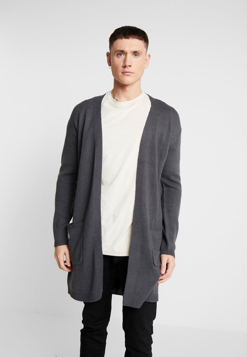 Brave Soul - FIELD - Vest - slate grey