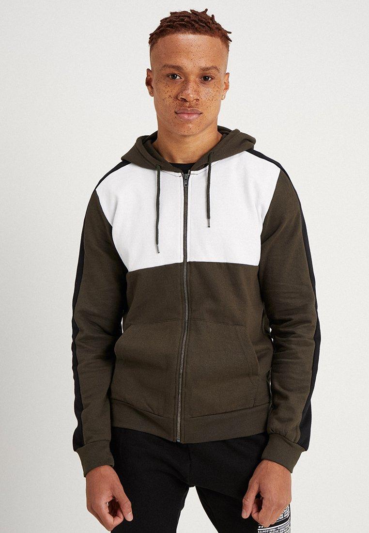 Brave Soul - ARROW - Zip-up hoodie - khaki combo