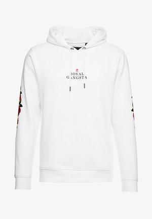 GROW - Jersey con capucha - white