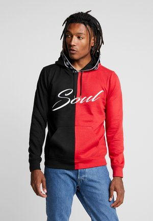 Jersey con capucha - black/red