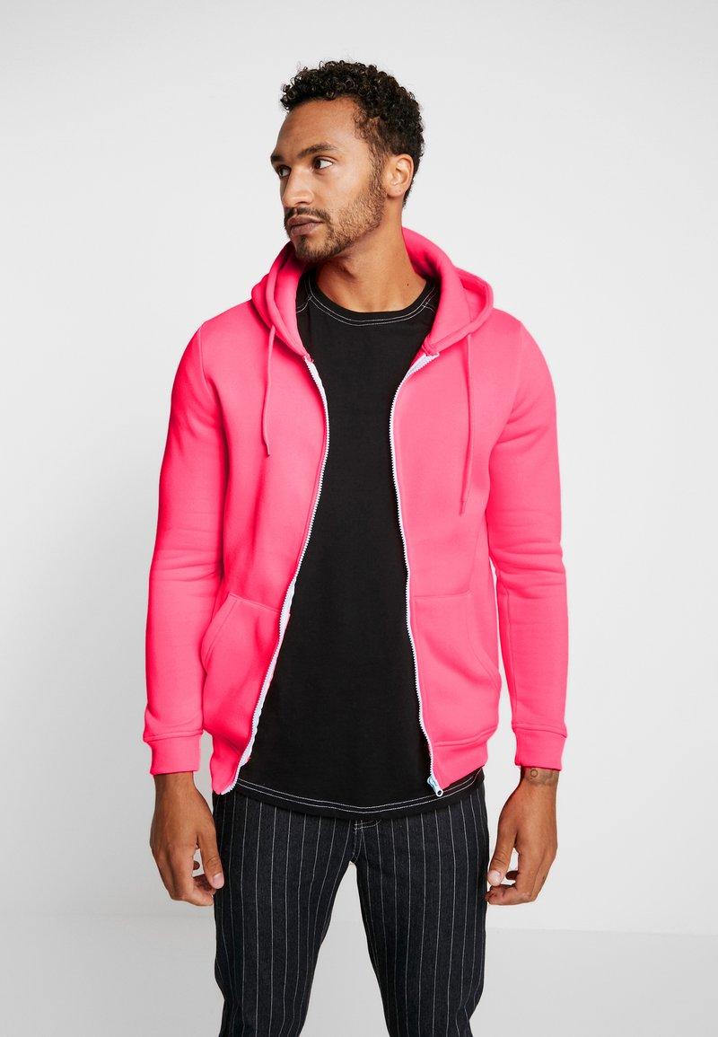 Brave Soul - MAGENTA - Sweatjacke - neon pink