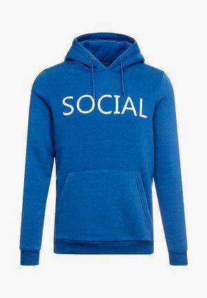 SOCIAL - Luvtröja - cobalt/optic white