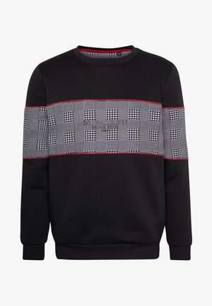 CLAPTON - Sweatshirt - black/red
