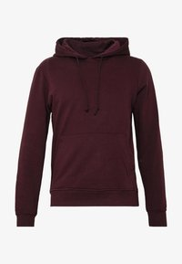 Brave Soul - CLARENCES - Bluza z kapturem - black cherry - 4