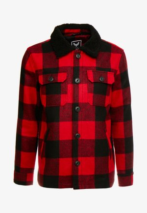AUGUSTUS - Chaqueta fina - red/black