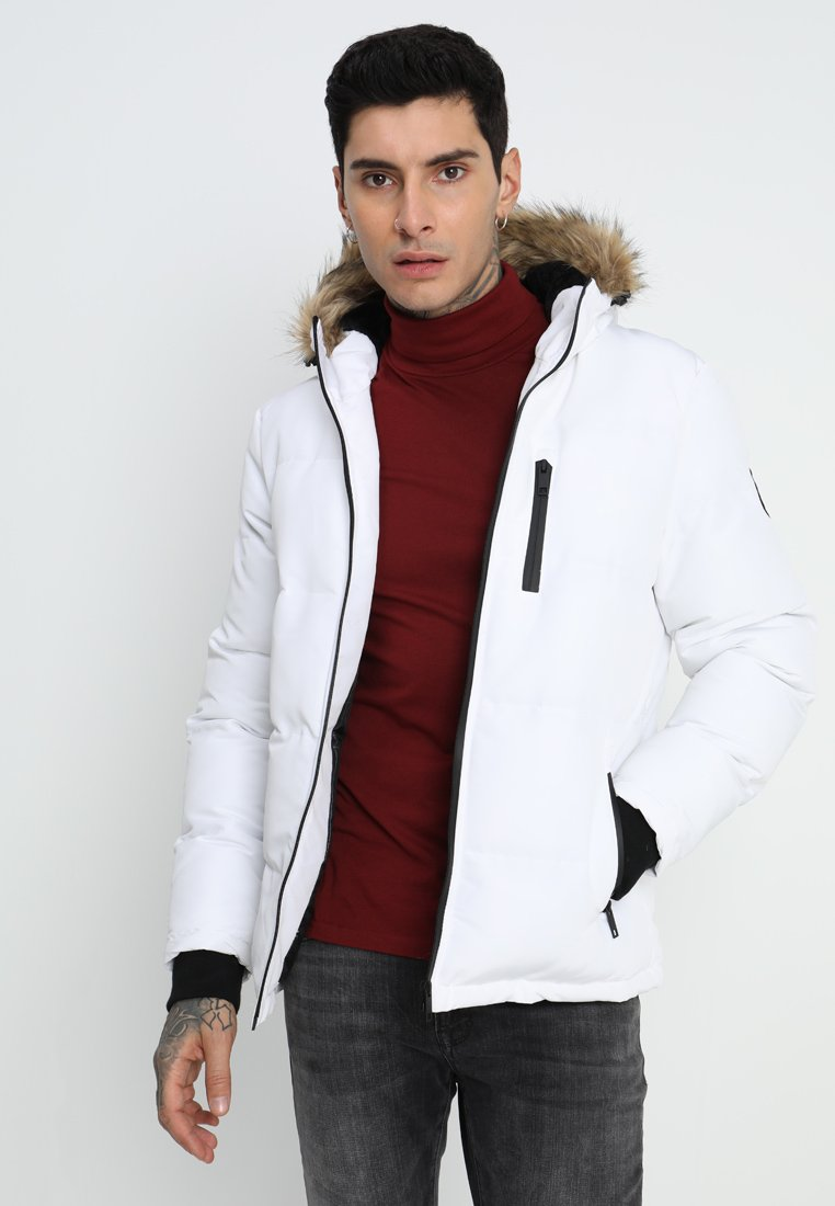 Brave Soul - TRAIL - Winter jacket - white