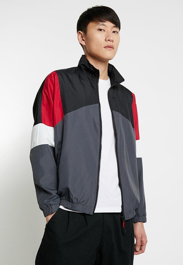Brave Soul - KIT - Training jacket - anthracite